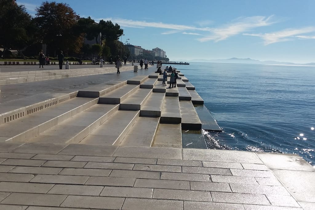 The Zadar Sea organ