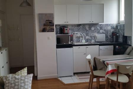 Beau 2 pièces rénové pour vos excursions à Paris - Ivry-sur-Seine - Apartamento