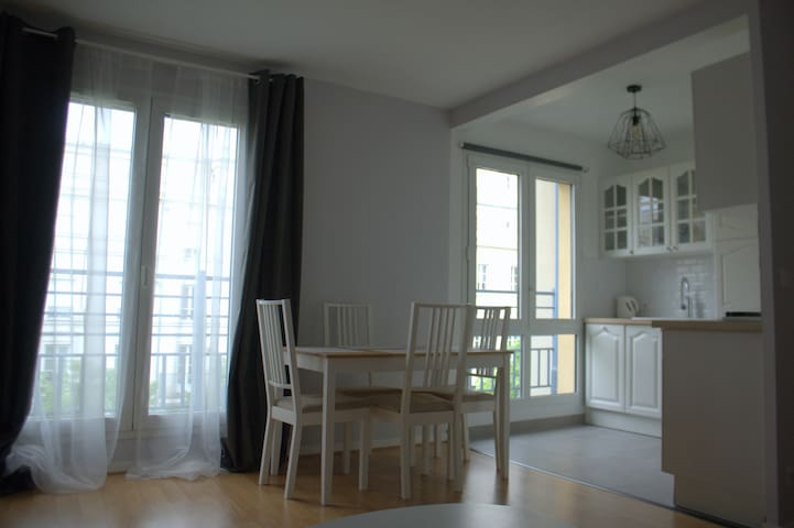 Apartment 4pers Disney/Vallée Village/Paris - Chessy - Apto. en complejo residencial