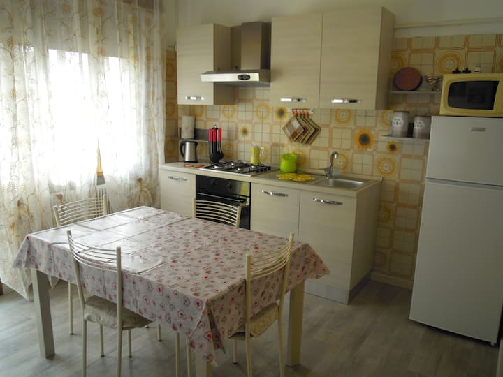 Spacious apartment close to Treviso downtown