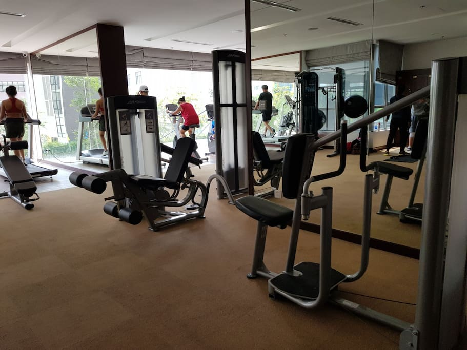 Free Gym at 1st floor