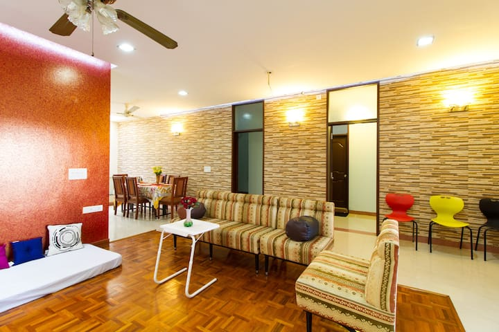 Family friendly apartment,PentHouse - Bangalore