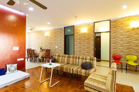 Family friendly apartment,PentHouse - Bangalore - Departamento