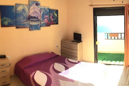 Habitación vistas al mar!! Wifi - El Rosario - Appartamento
