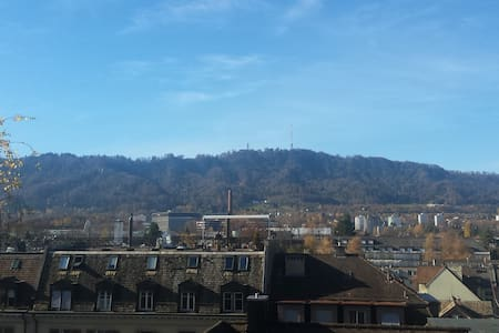 Central and quite location with amazing view - Zürich - Apartmen
