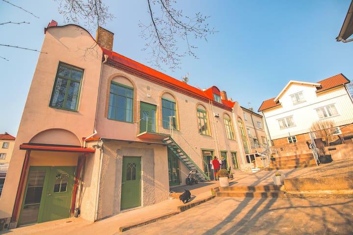 Stor lägenhet i Lysekil city