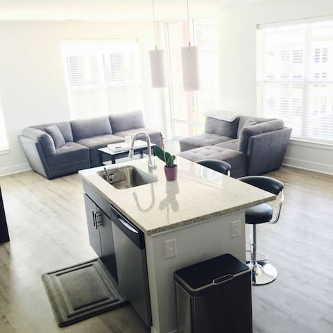 Mass Ave Room w/ Private Full Bath - Indianapolis - Appartement