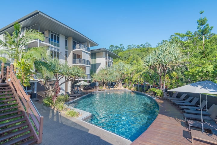 ⭐ Prime location Noosa Retreat