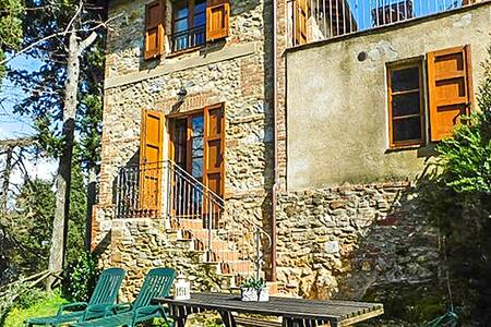 Holiday cottage with 1 bedroom on 45m² in Civitella Marittima