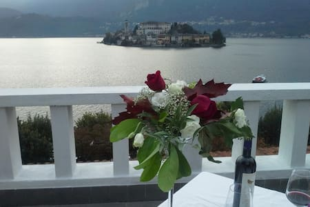 Apartment with a lake view! - Orta San Giulio - Huoneisto