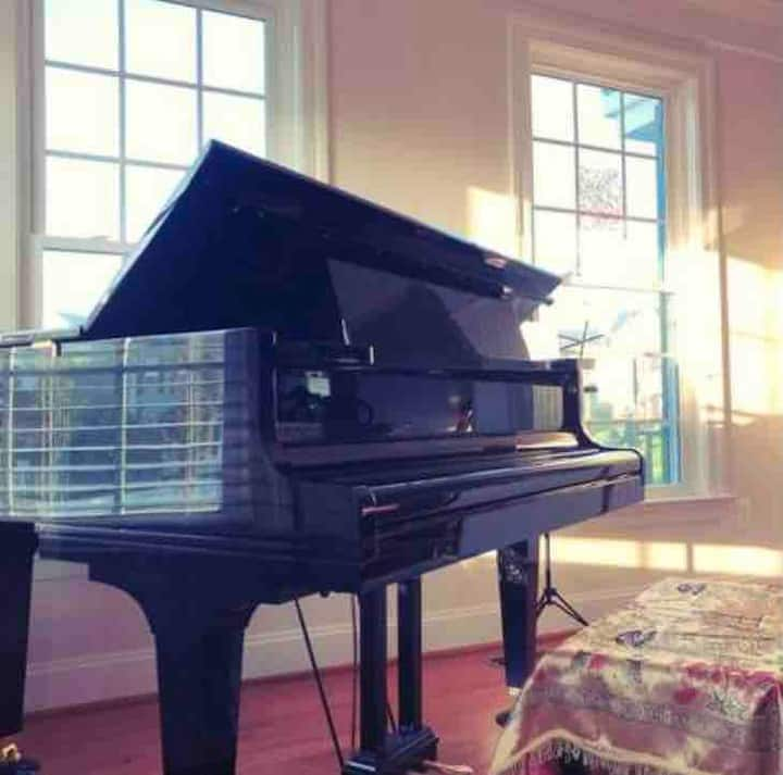 Holiday meetup @ 6600 SF homy piano butterfly Home