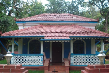 Charming Villa with garden in Corjuem, North Goa. - Dům