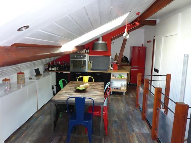 Bel appartement cosy sous les combles