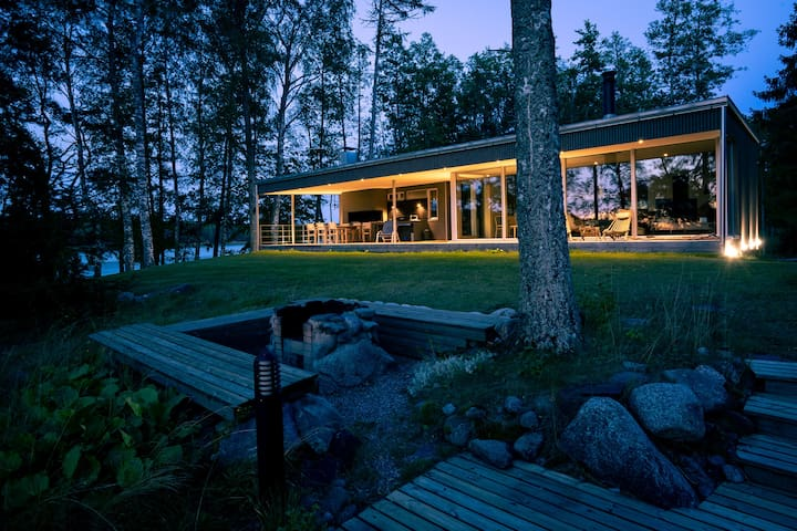 Luxury villa in Turku archipelago