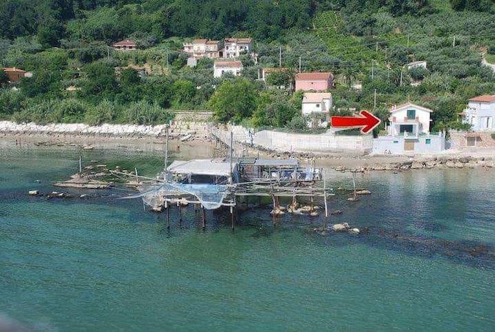 Casa sul mare con spiaggia privata (Phone number hidden by Airbnb)