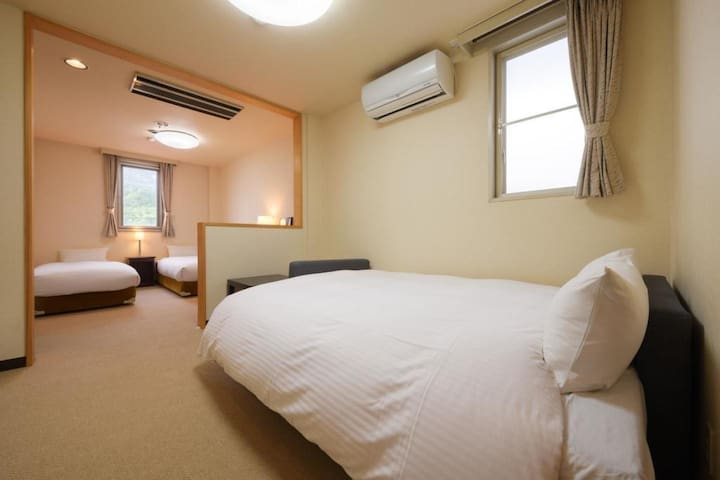 A Comfortable Hotel Stay in Matsushima (Twin Bed)