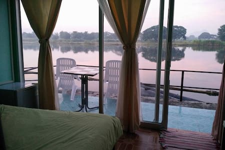 40% discount, riverside view, close train station