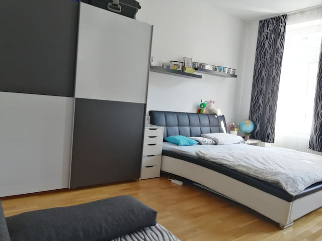 Nice room, 10 minutes away from the centre