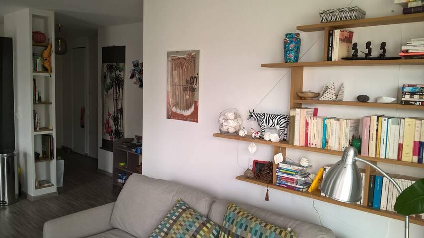 Nantes : appartement lumineux proche  gare SNCF