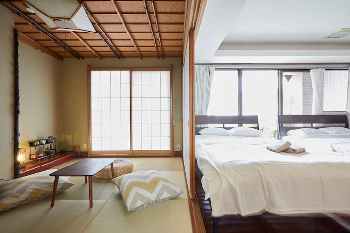 Near Akihabara and Ueno 3-Rooms - Taitō-ku - Byt