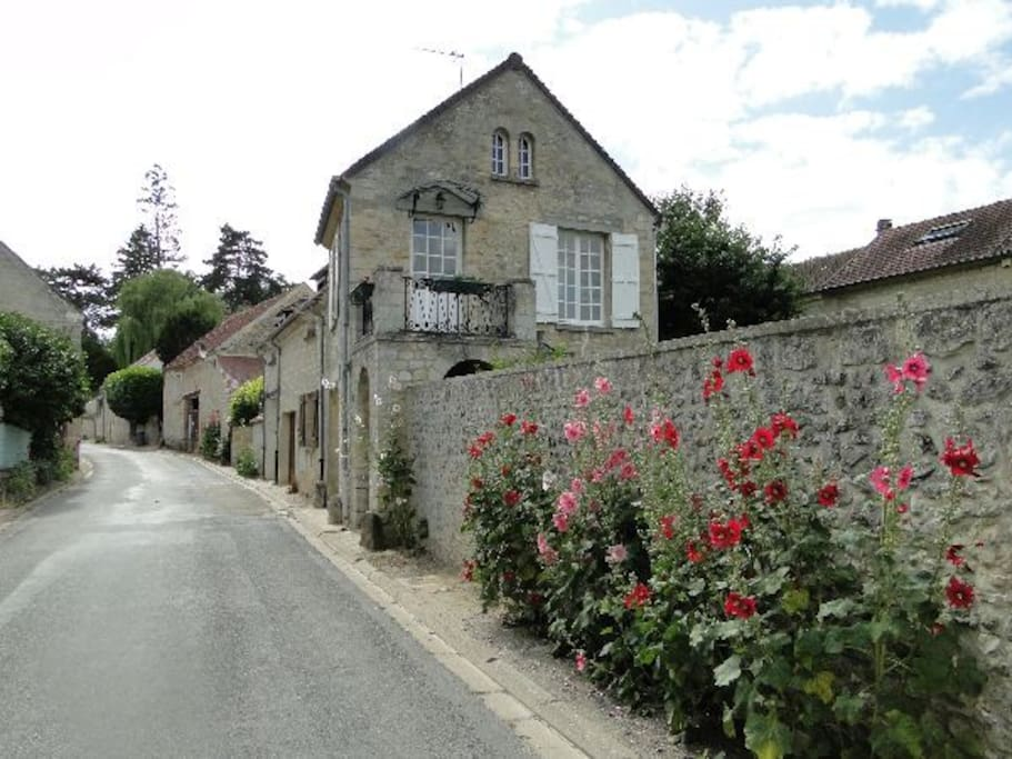 Gite le relais du biard maisons de ville louer labbeville le de franc - Maison de ville ile de france ...
