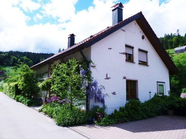 Apartment under the roof Fichtennest with 2 bedroom and 2 bathroom in the Black Forest