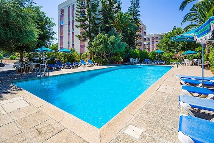3b Ground floor pool apartment - Dasoudi beach - Agios Athanasios