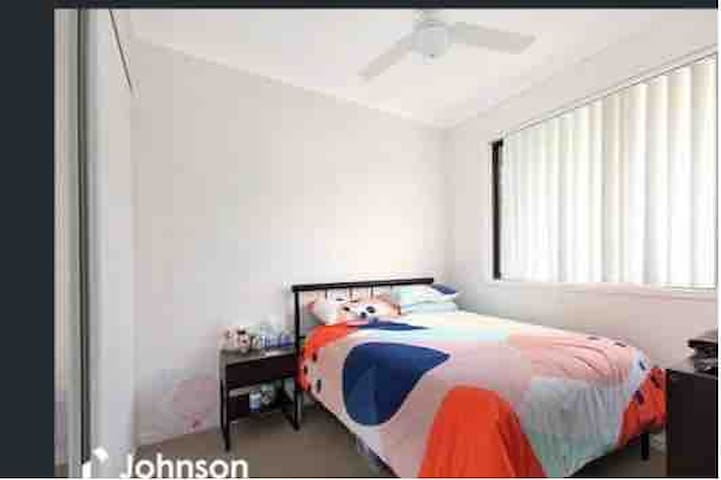Bedroom in a shared house