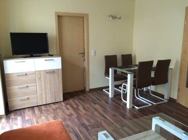 Ferienwohnung Franziska in ruhiger Umgebung - Moorenweis - Apartament