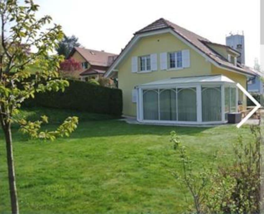 Appartement 2 pi ces appartements louer challens for Location appartement yverdon suisse
