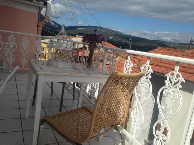 House in Mili, Samos