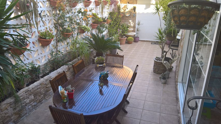 magnífico apartamento con terraza en Ruzafa - Valencia