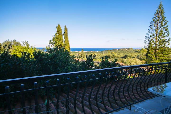 Sea View apartment near Tsilivi... - Dilesi - Daire
