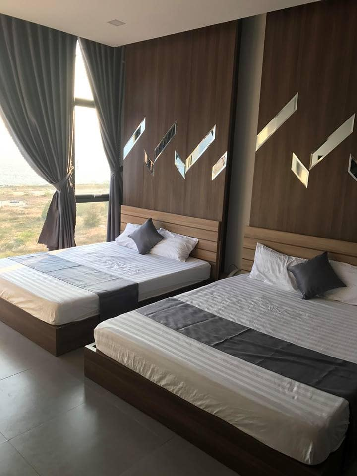 double bed thien trang