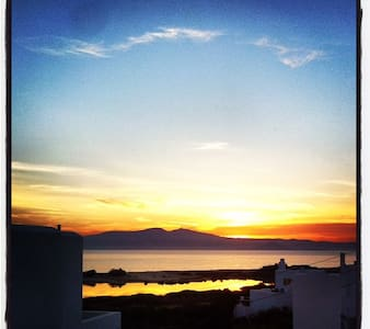 Glyfada studio sea view - Naxos - Apartment