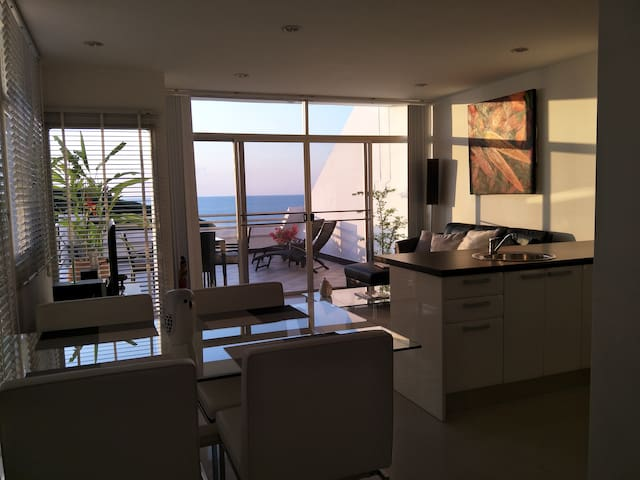 Oceanview apartment  from $250 per week.