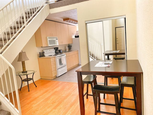 Downtown Loft with Private Rooftop & Parking!