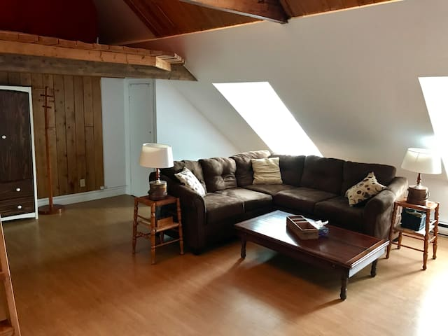 Charming and well located loft in old Quebec