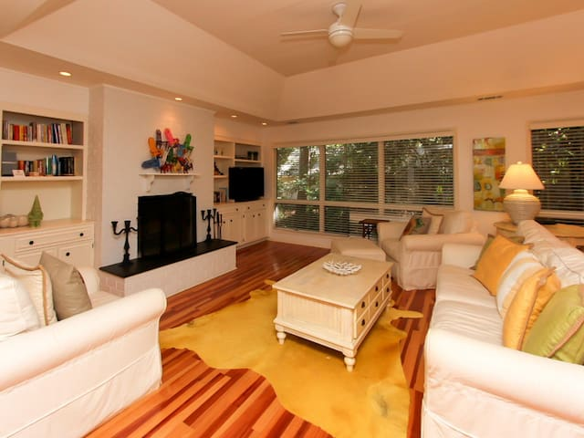 Living Room at 28 Battery Road