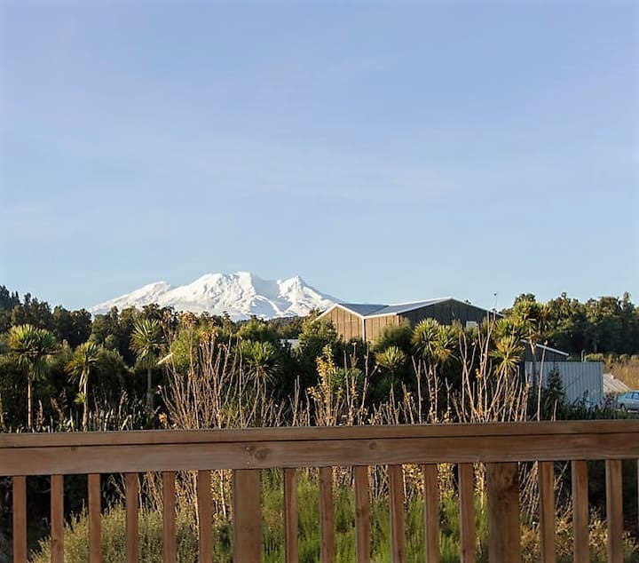 Ohakune Luxury 2 BDRM Apartment - 3A