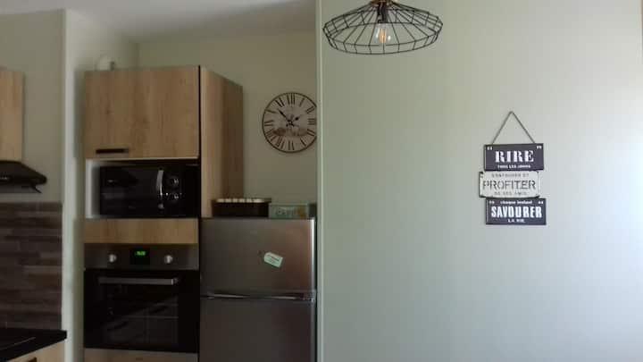Appartement T2 proche centre ville et thermes
