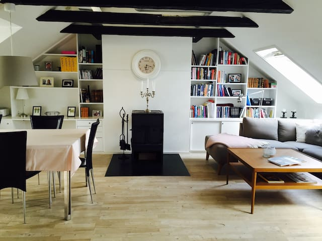 Cozy and light apartment - Hellerup - Apartment
