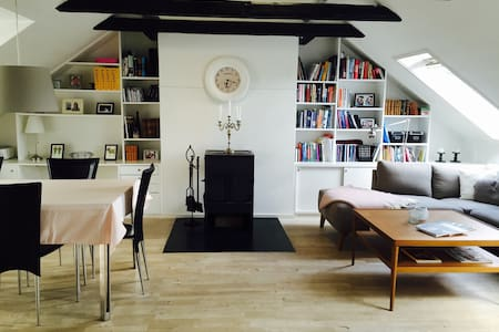 Cozy and light apartment - Hellerup