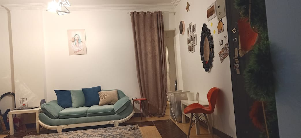 Single private room in a cozy apt females only!