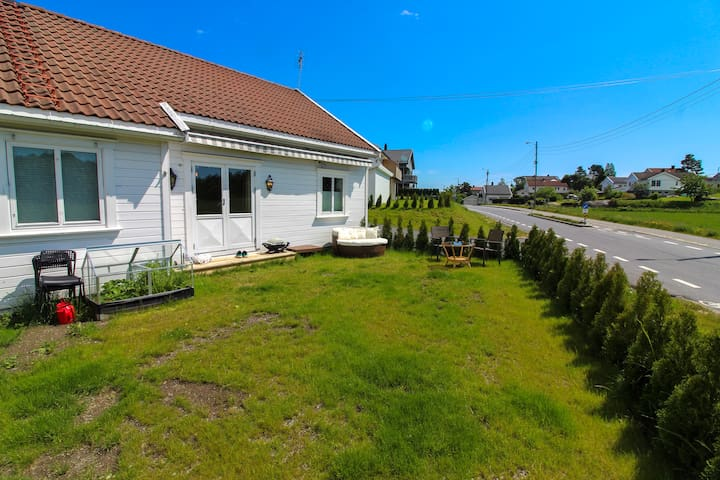 Sunny House In Calm Surroundings, Eboards included
