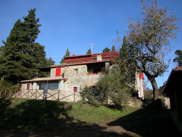 La Loggia, Agriturismo Casa Giannino, Arezzo - Castel Focognano - Leilighet