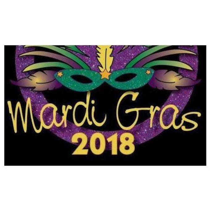 Come Celebrate Mardi Gras 2018 with us