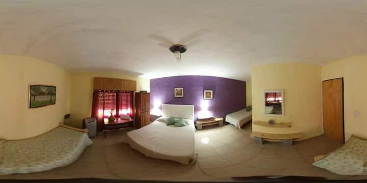 Lysa's room, Ezeiza Airport