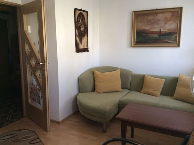 nice & sunny flat 10 min by bus form city centre - Warszawa - Apartment