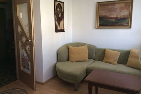 nice & sunny flat 10 min by bus form city centre - Warszawa - Lejlighed